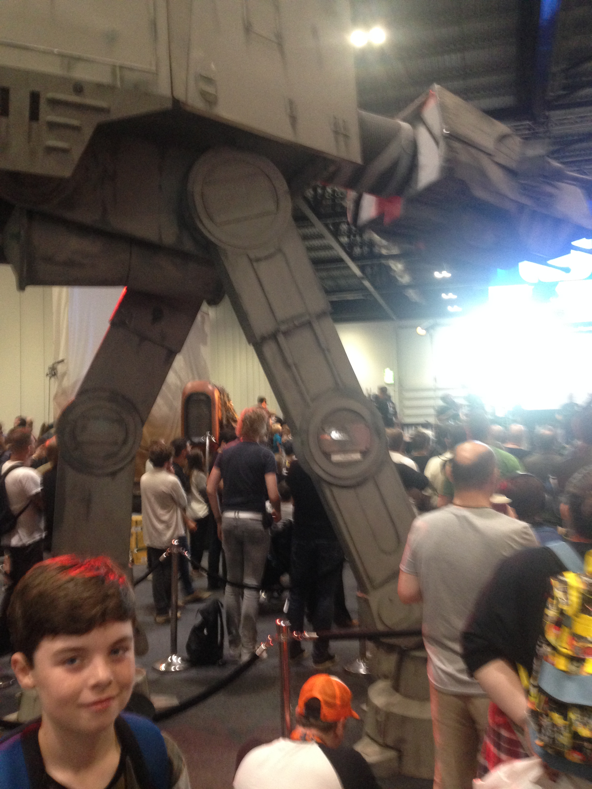 An AT-AT signed by George Lucas.JPG