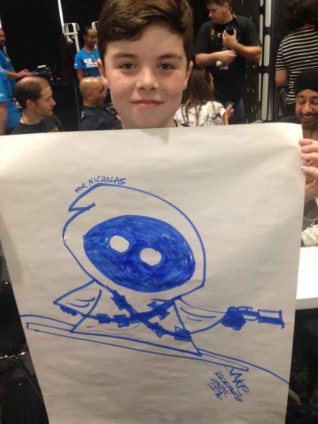 JAKe's Jawa drawing he gave Nick