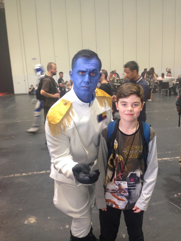 NIck with Admiral Thrawn