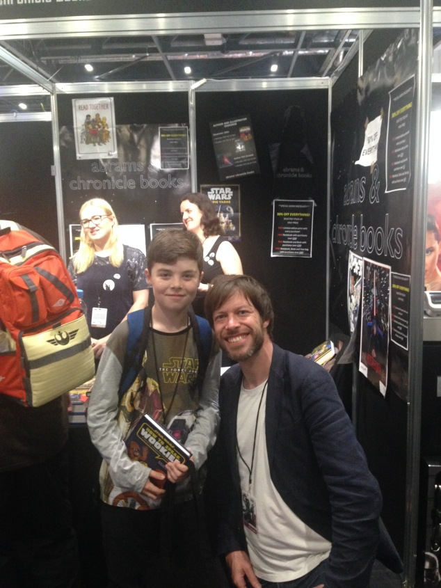 Nick with JAKe the SW artist