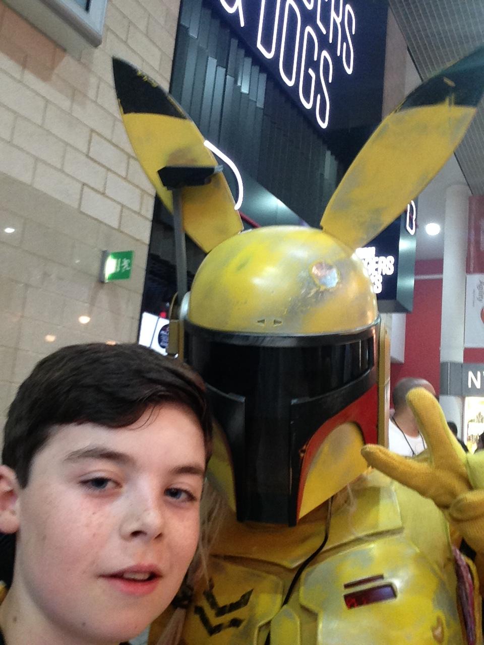 Pikachu Mandalorean selfie.JPG