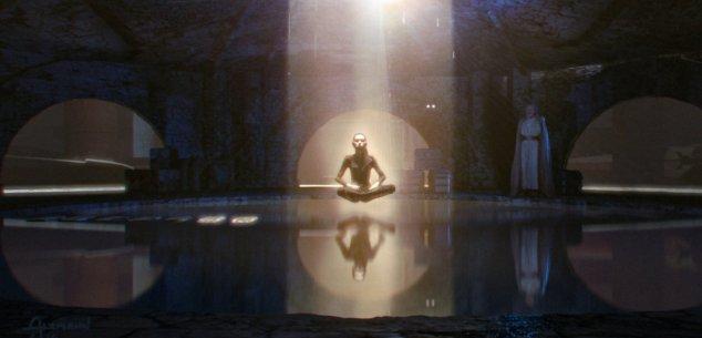 rey meditating